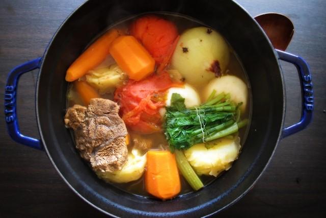 オススメの根菜料理、ポトフ