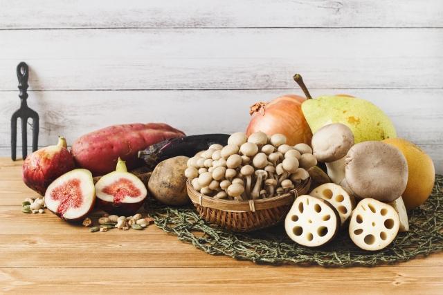 食物繊維たっぷりの食品たち