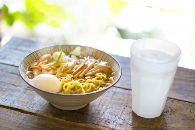 自宅で麺類からの糖質を減らす方法 ラーメン編